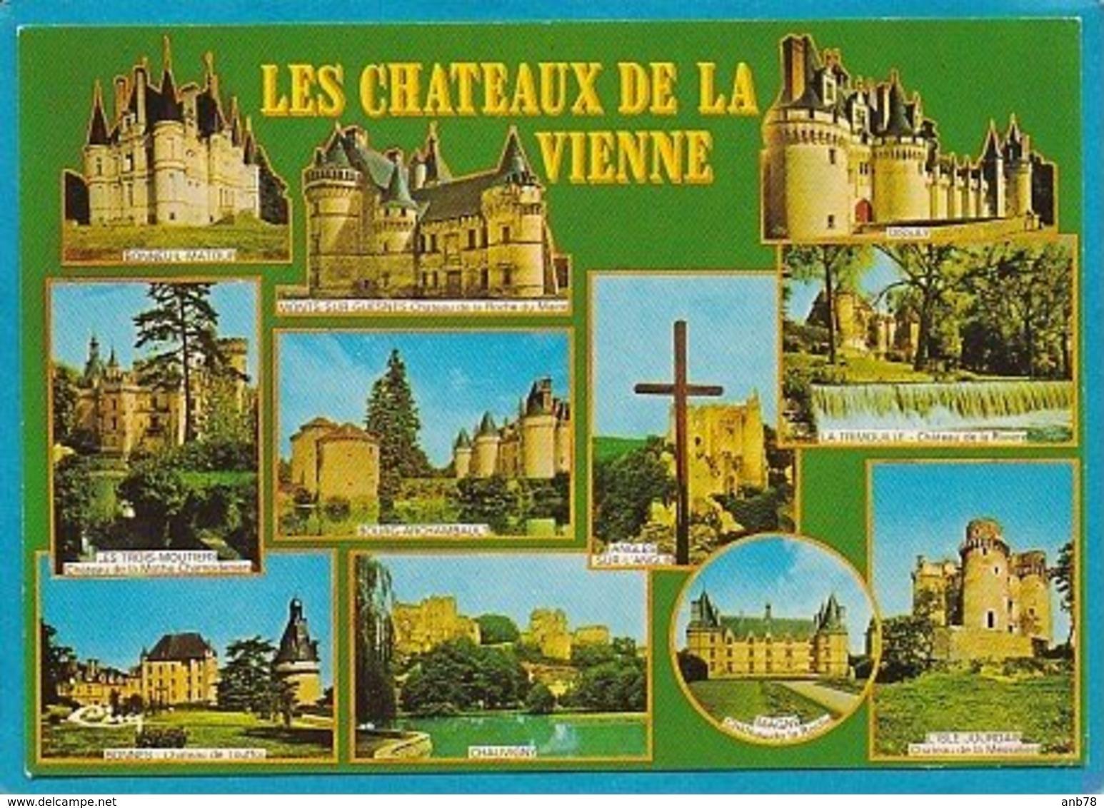 86 Chateaux Vienne Mothe Champdeniers Trois Moutiers, Bonneuil Matour, Isle Jourdain, Bonnes Magne...... - Les Trois Moutiers