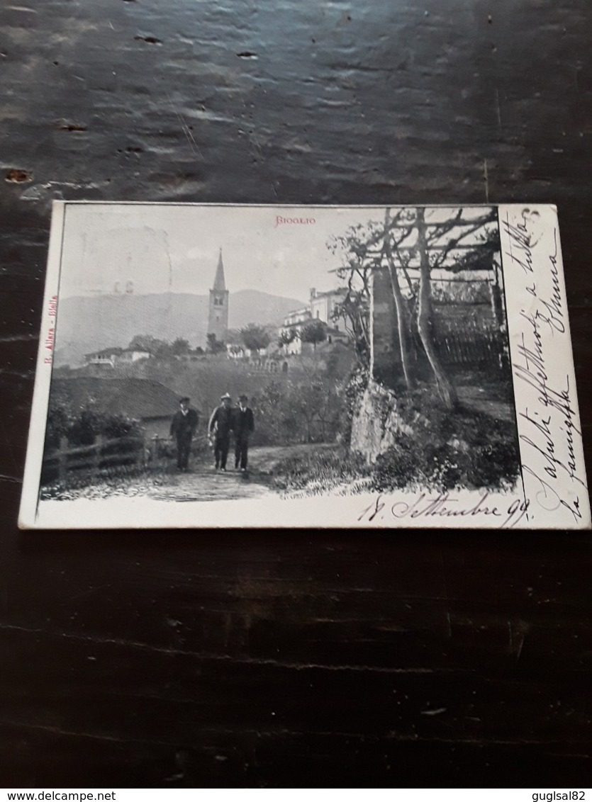 Cartolina Postale 1899, Bioglio, Viaggiata - Vercelli