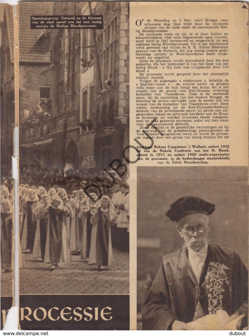 BRUGGE Heilige Bloedprocessie  (R245) - Boeken, Tijdschriften, Stripverhalen