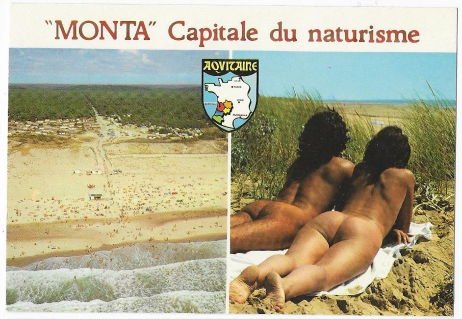 """Montalivet """" Monta """" Capitale Du Naturisme - Fine Nudes (adults < 1960)"""