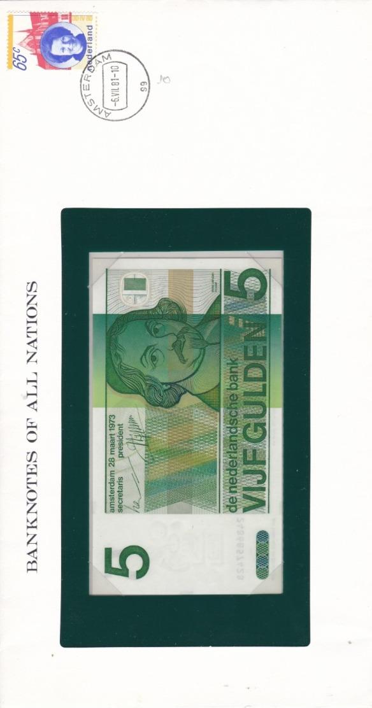 BANKNOTES OF ALL NATIONS  5 NOK - Norvegia