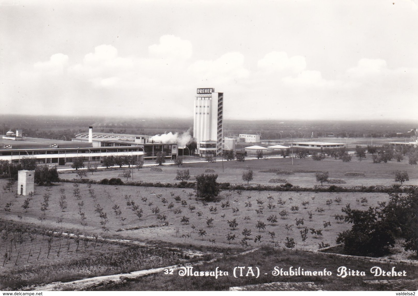 MASSAFRA - TARANTO - STABILIMENTO BIRRA DREHER - 1969 - Taranto