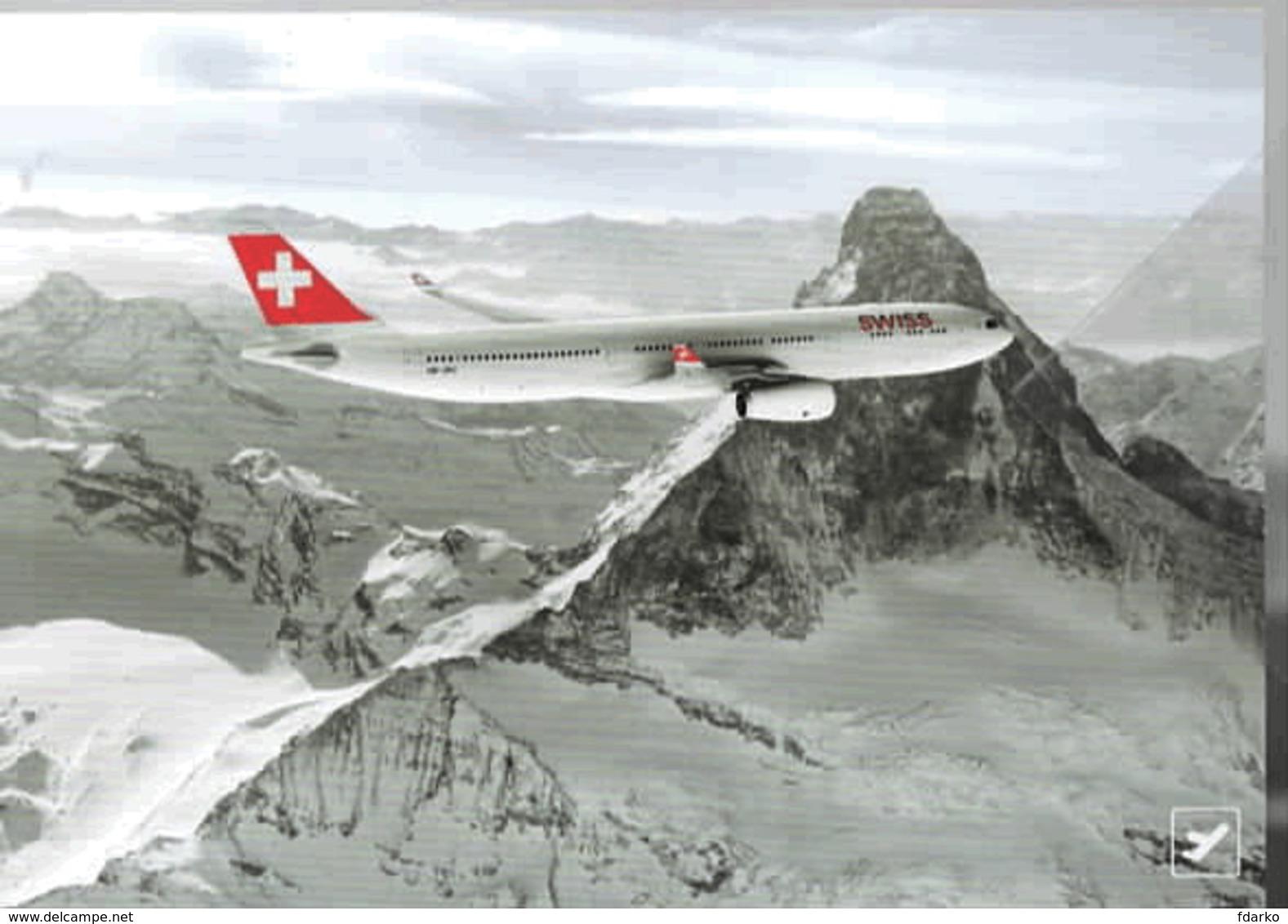 Swiss International Air Lines A330 HB-JHJ Avion Aereo - 1946-....: Ere Moderne