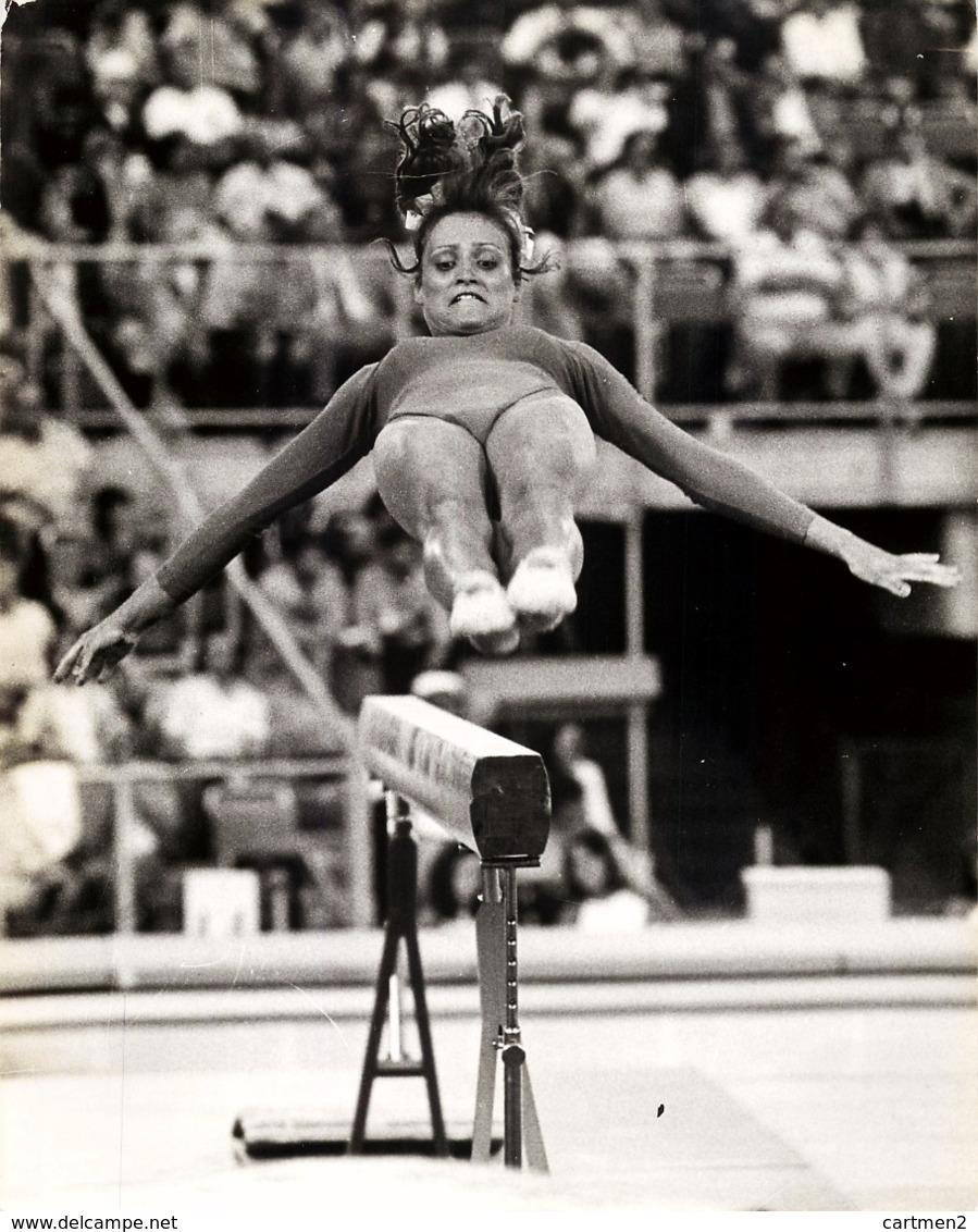 OLYMPIC GAMES MÜNCHEN JEUX OLYMPIQUES MUNICH 1972 GYMNAST JUTTA OLTERSDORF GERMANY GYMNASTIQUE - Juegos Olímpicos
