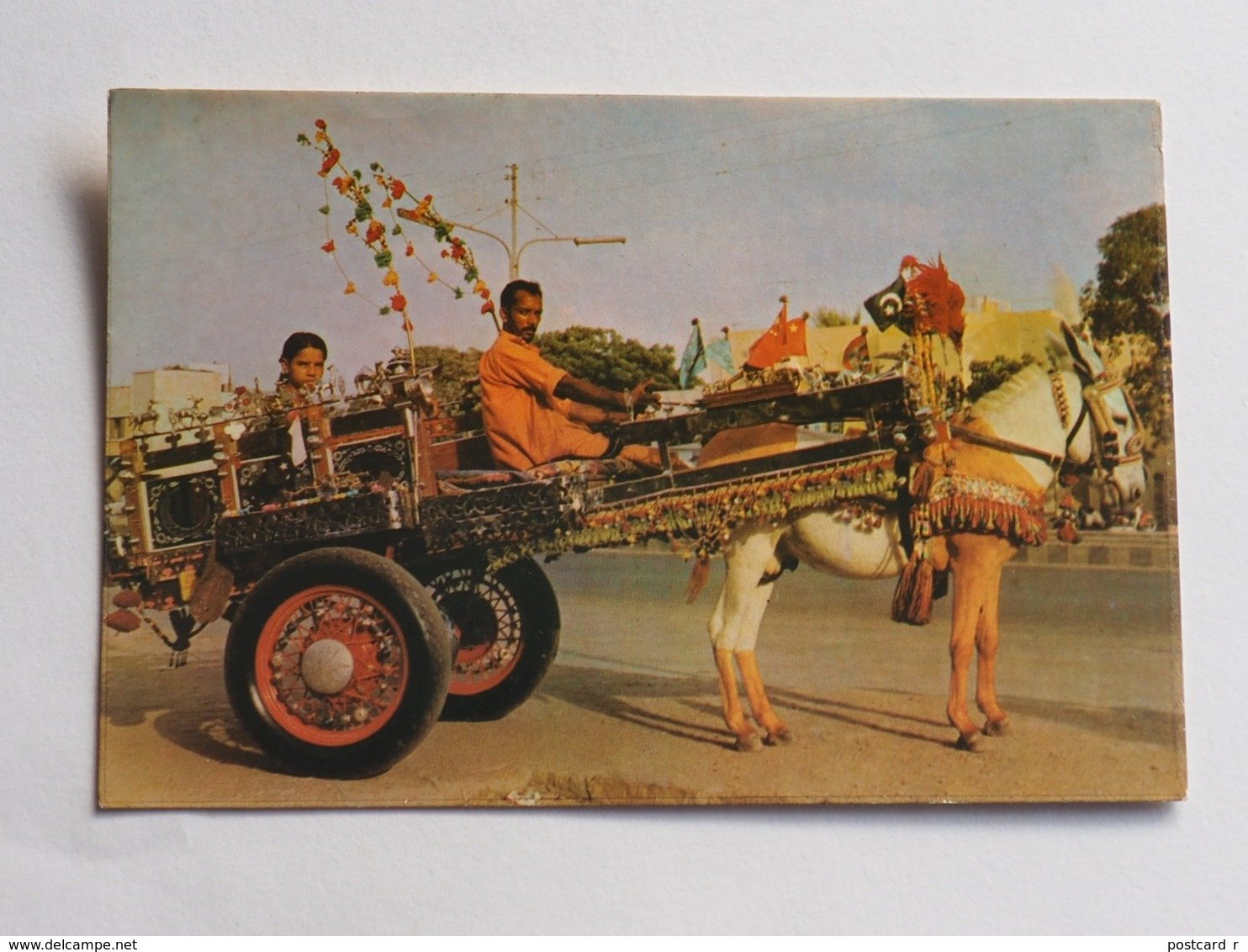 Pakistan Donkey Cart  A 206 - Pakistan
