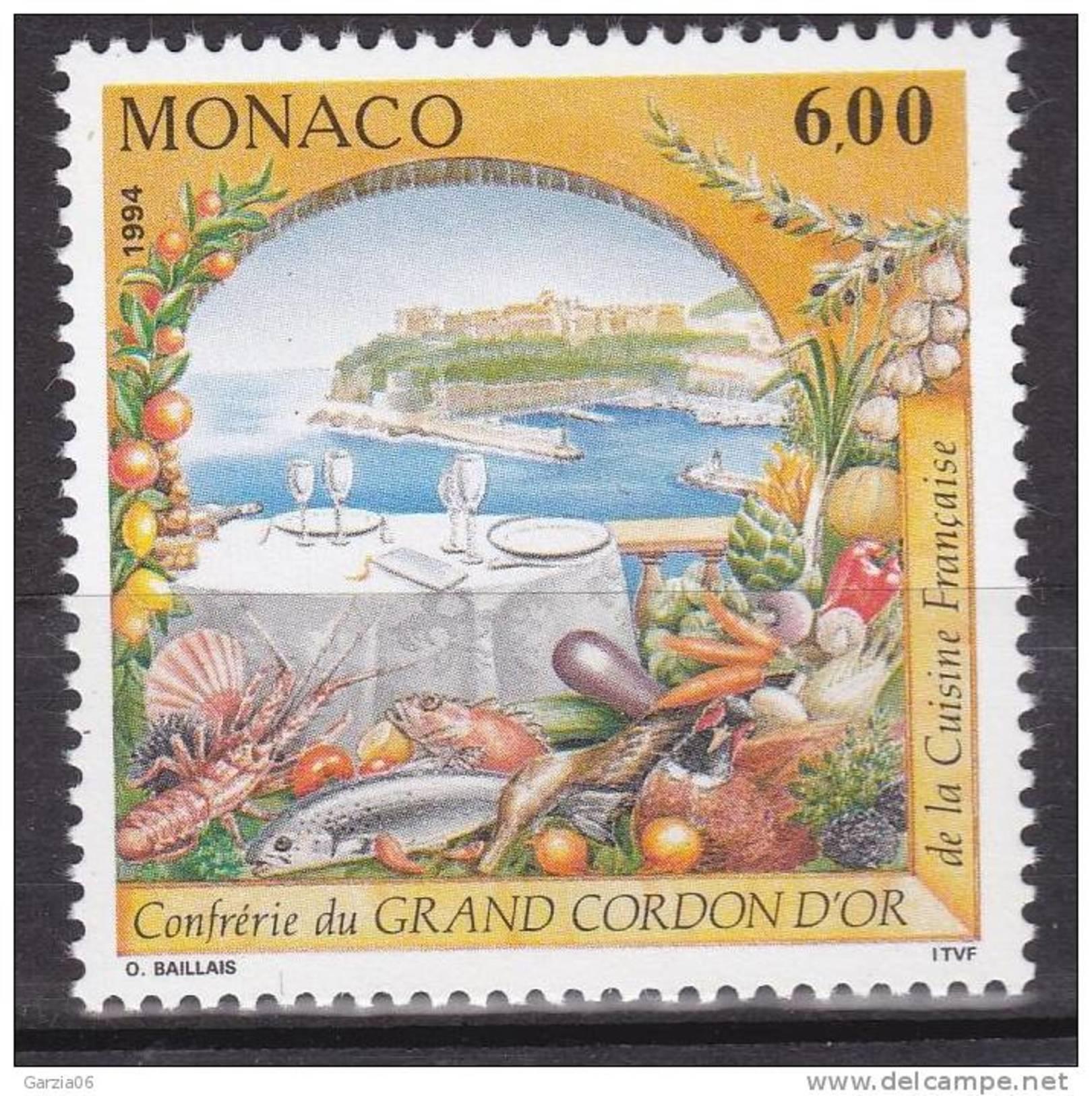 Monaco - 1994 - Confrerie Culinaire - 1934  - Neufs ** - MNH - Monaco