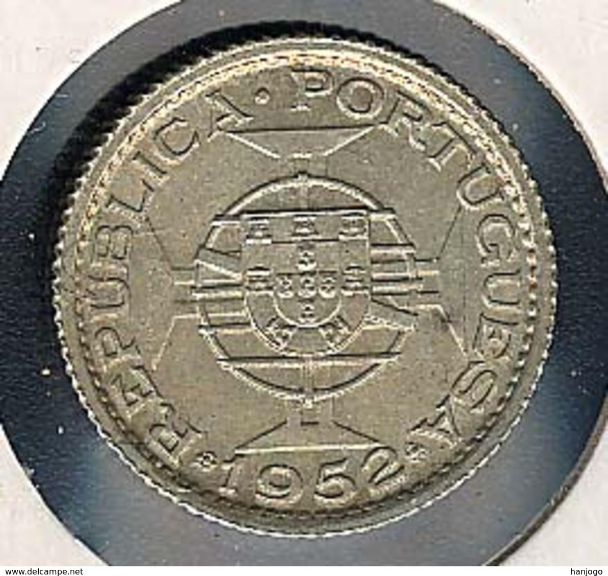 Macao, 1 Pataca 1952, Silber, Rare - Macao
