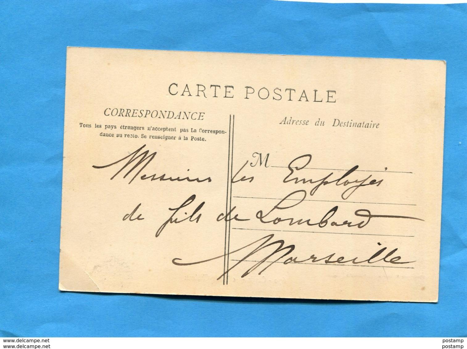 CASSIS-place Dessous Le Vieux Chateau-animée -a Voyagé En 1905-édition Lacour - Cassis