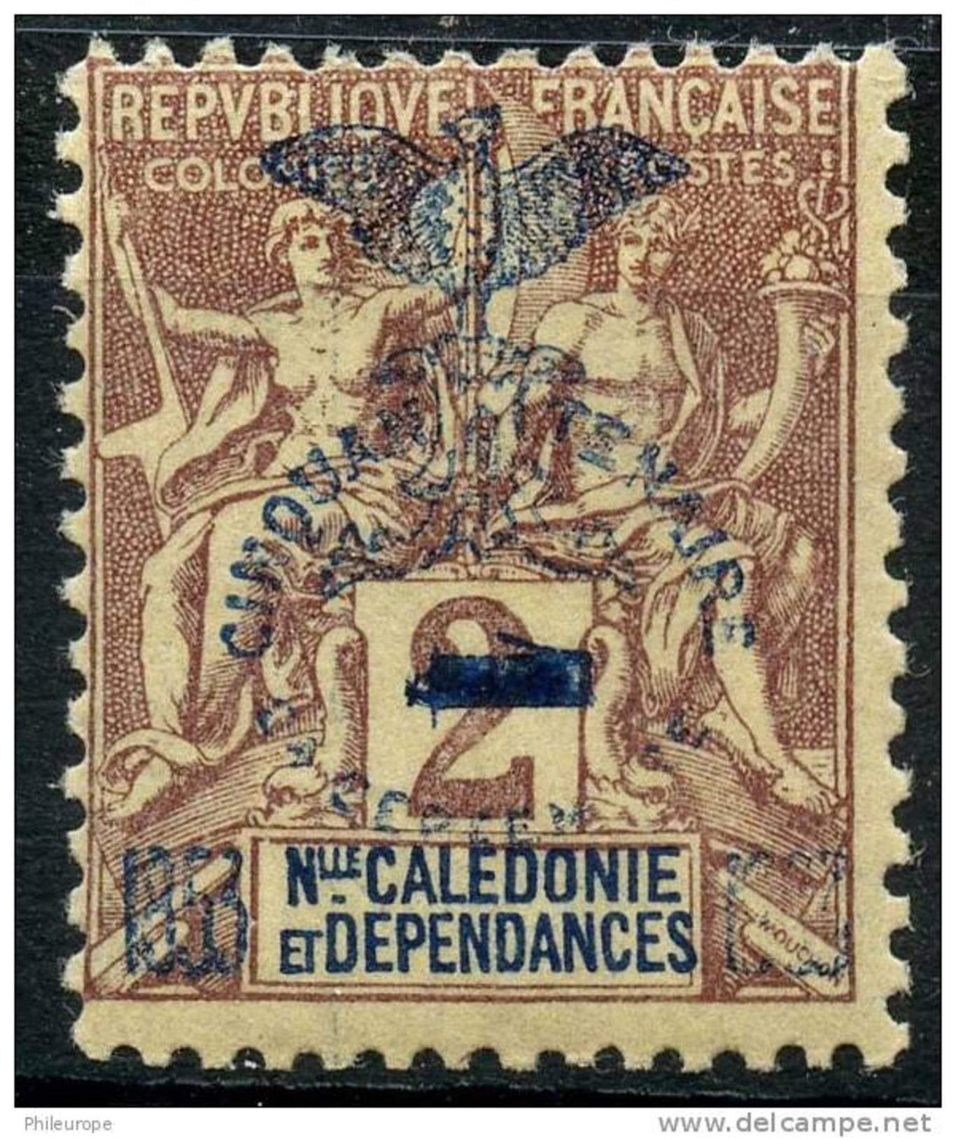 Nouvelle Caledonie (1903) N 81 * (charniere) - Ungebraucht
