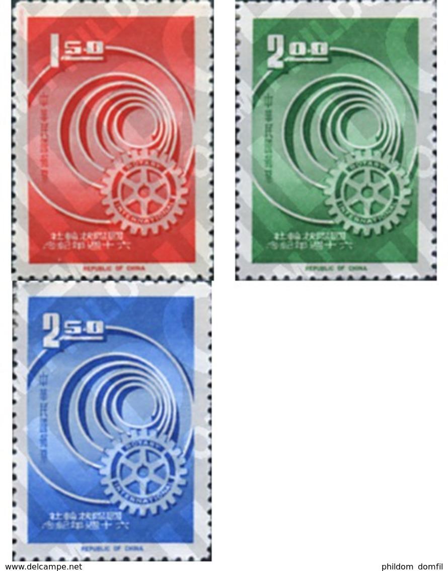 Ref. 314604 * MNH * - FORMOSA. 1965. 60th  ANNIVERSARY OF ROTARY INTERNATIONAL . 60 ANIVERSARIO DEL ROTARY INTERNATIONAL - Ungebraucht