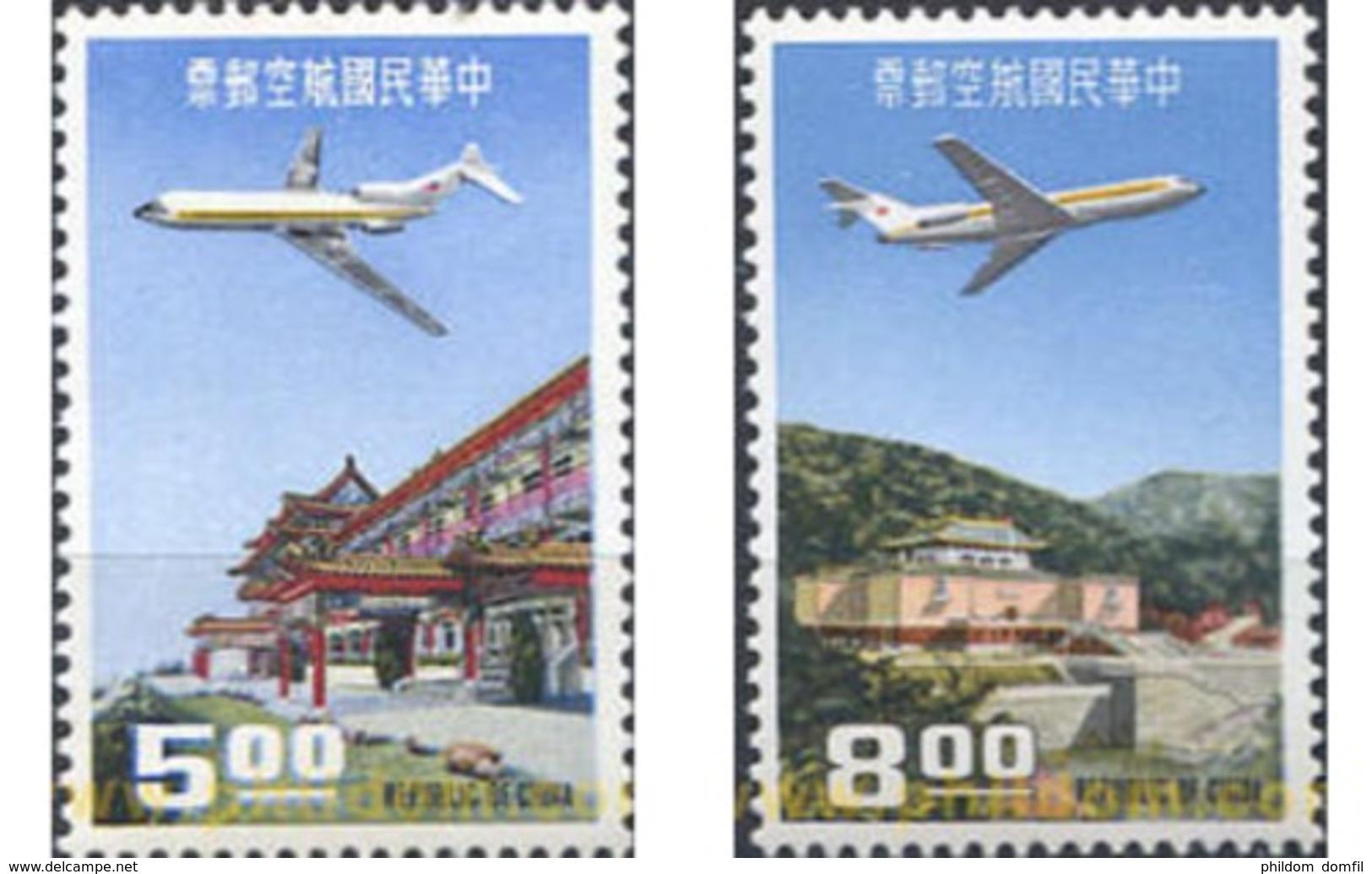 Ref. 314843 * MNH * - FORMOSA. 1967. AIRMAIL . CORREO AEREO - 1945-... Republic Of China