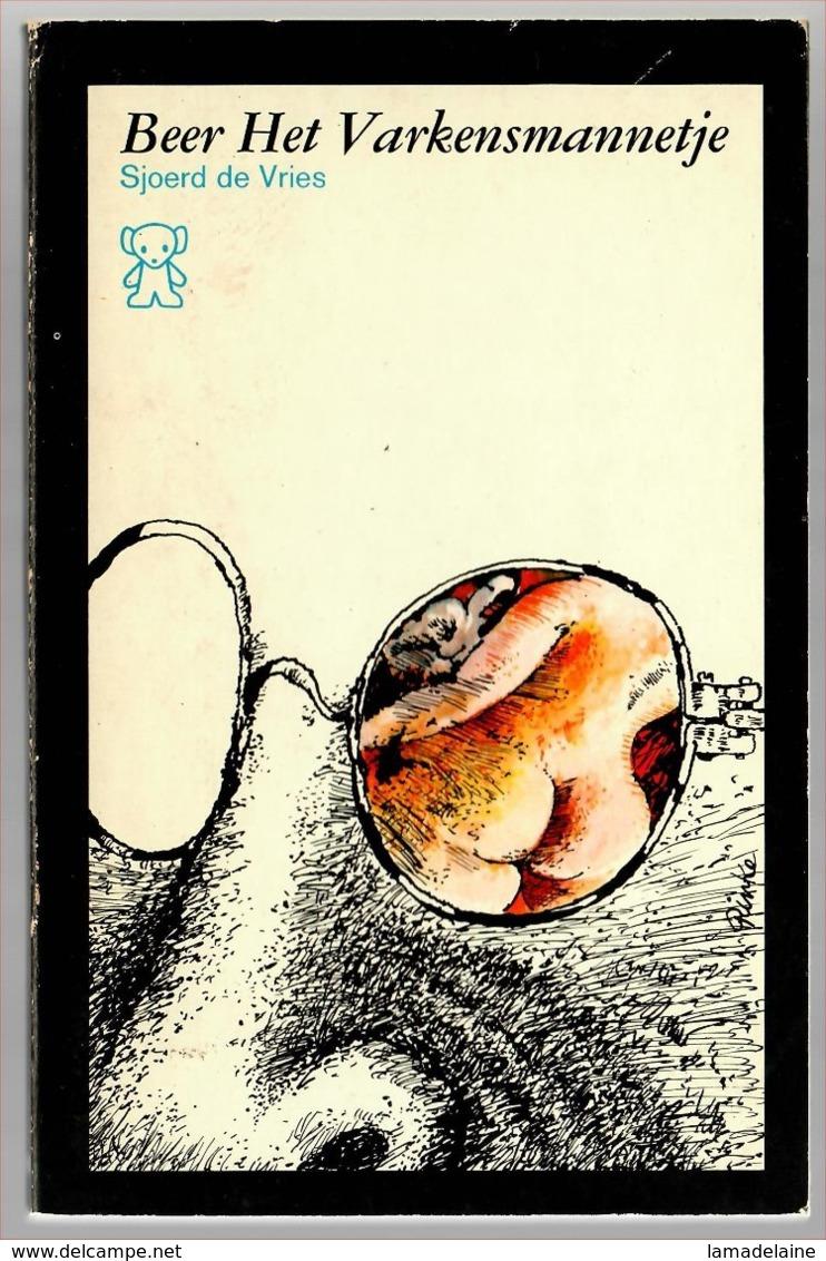 Zwarte Beertjes 1528: Beer, Het Varkensmannetje (Sjoerd De Vries) (Bruna 1973) - Horror En Thrillers