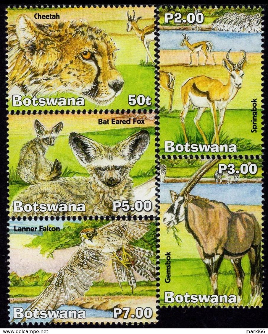 Botswana - 2019 - Wetlands, Part V - Nxai Pans - Mint Stamp Set - Botswana (1966-...)