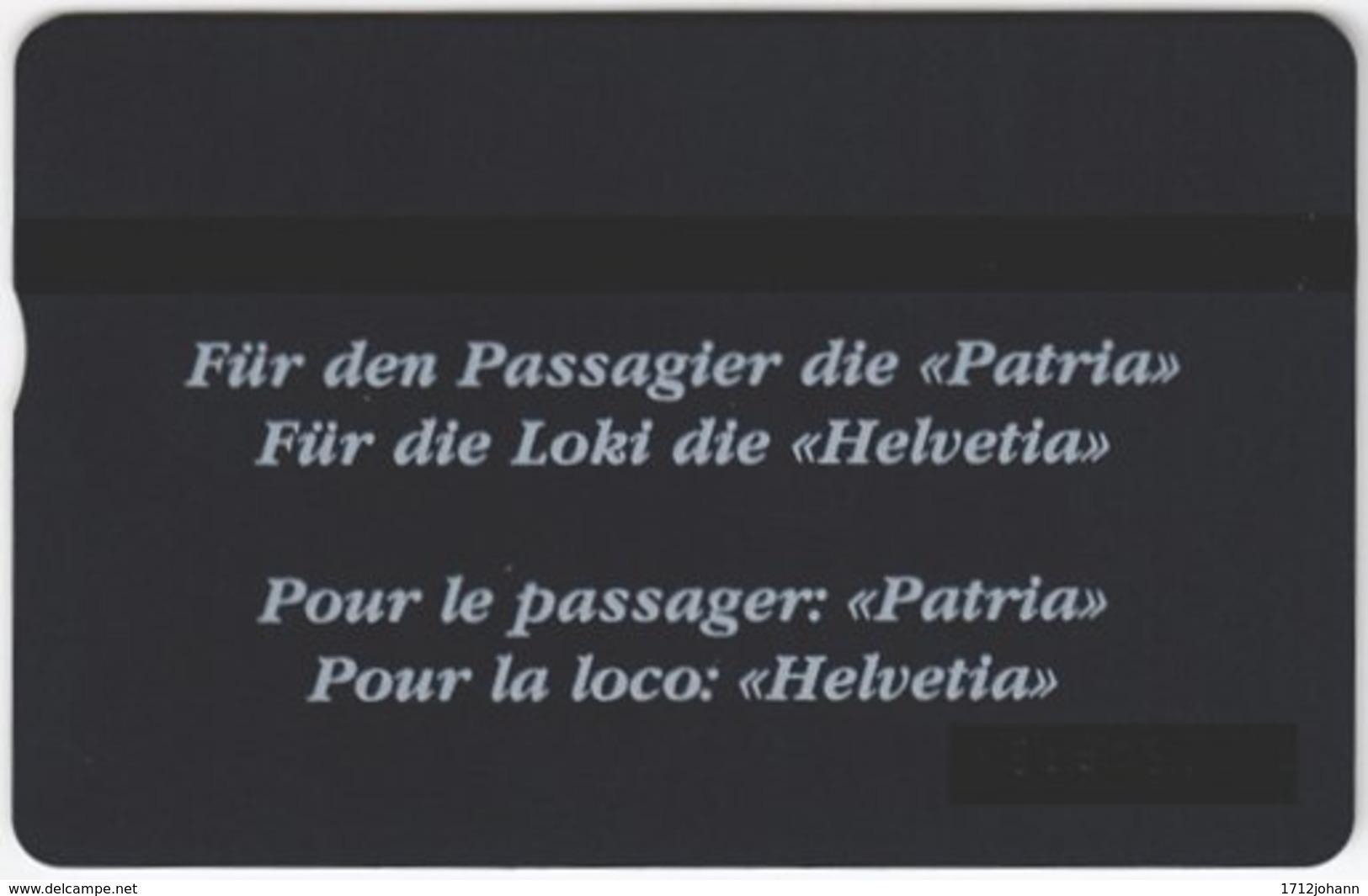 SWITZERLAND C-869 Hologram Private - Landscape, Garden, Locomotive - 303L - MINT - Schweiz