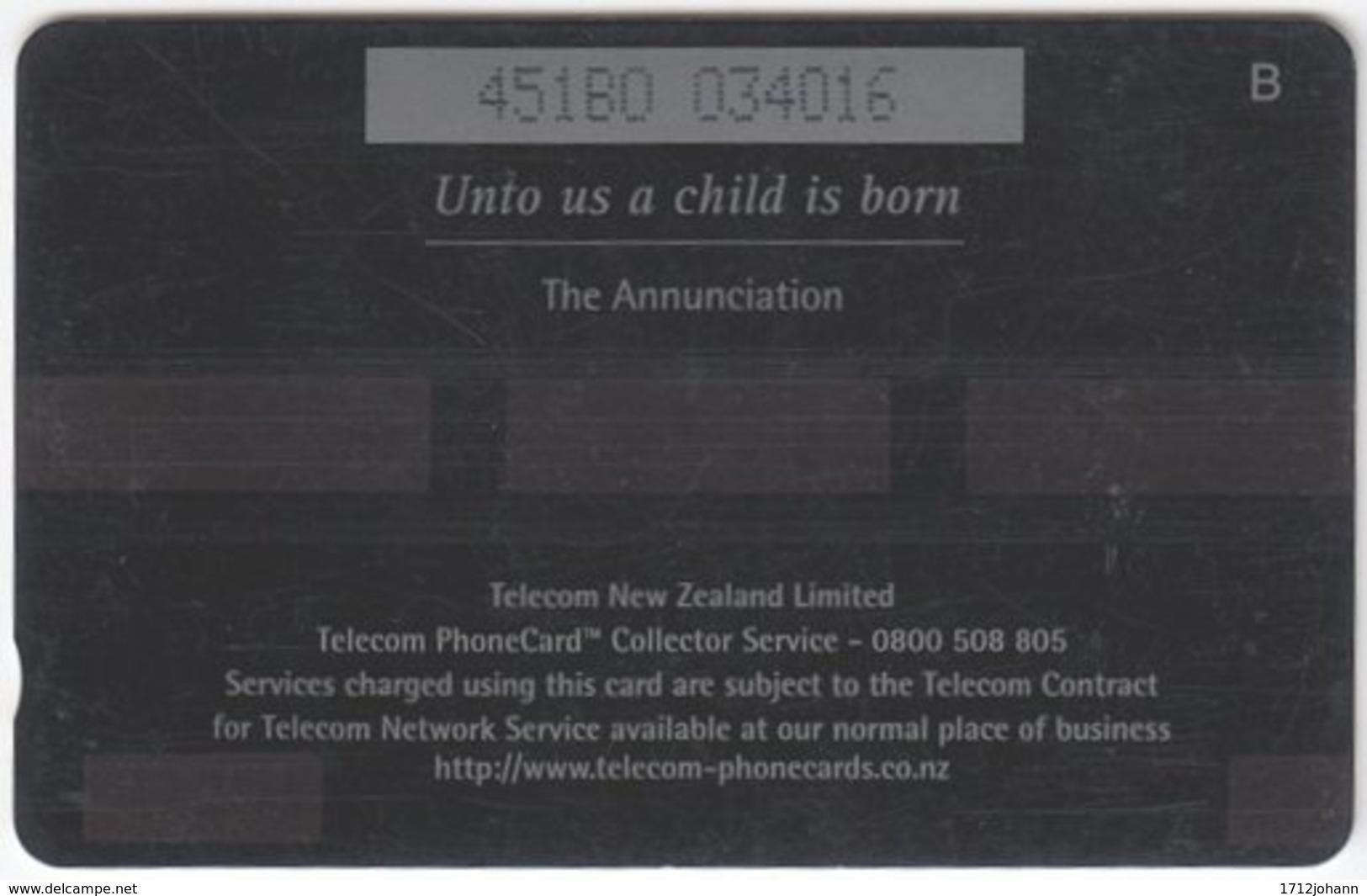 NEW ZEALAND A-869 Magnetic Telecom - Occasion, Christmas - 451BO - Used - Nuova Zelanda