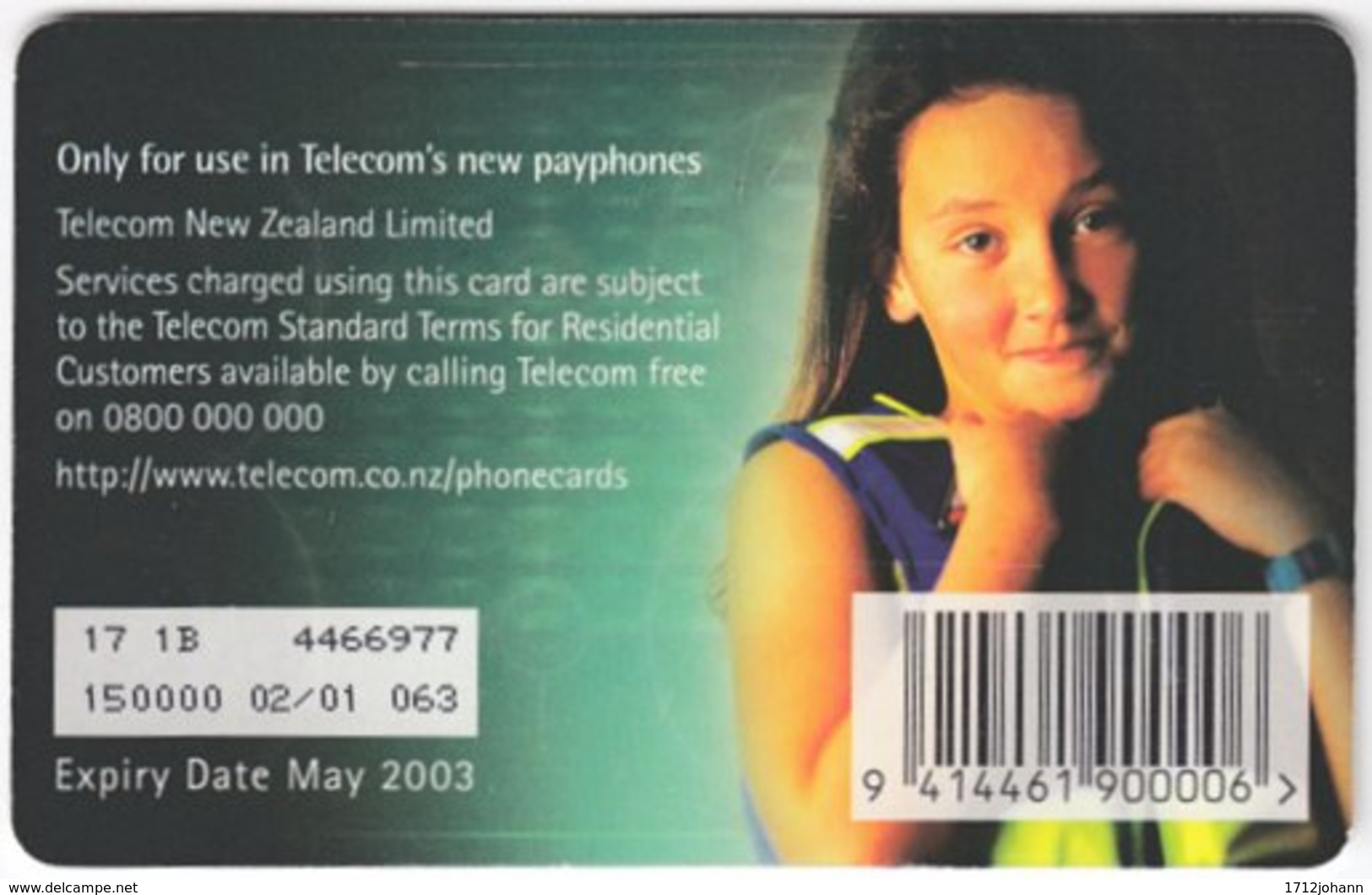 NEW ZEALAND A-915 Chip Telecom - Leisure, Windglidding - Used - Nuova Zelanda