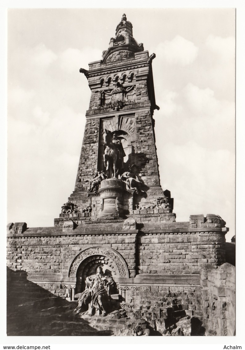 Germany - Kyffhäuserdenkmal Mit Reiterstandbild Und Barbarossa - Monuments