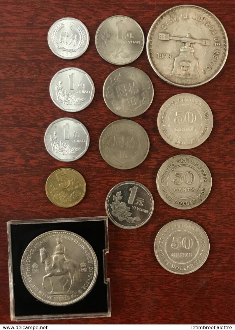 Lot De Pièces, Monnaies à Trier, Asie, Europe, A Voir Scan Recto Verso - Monnaies