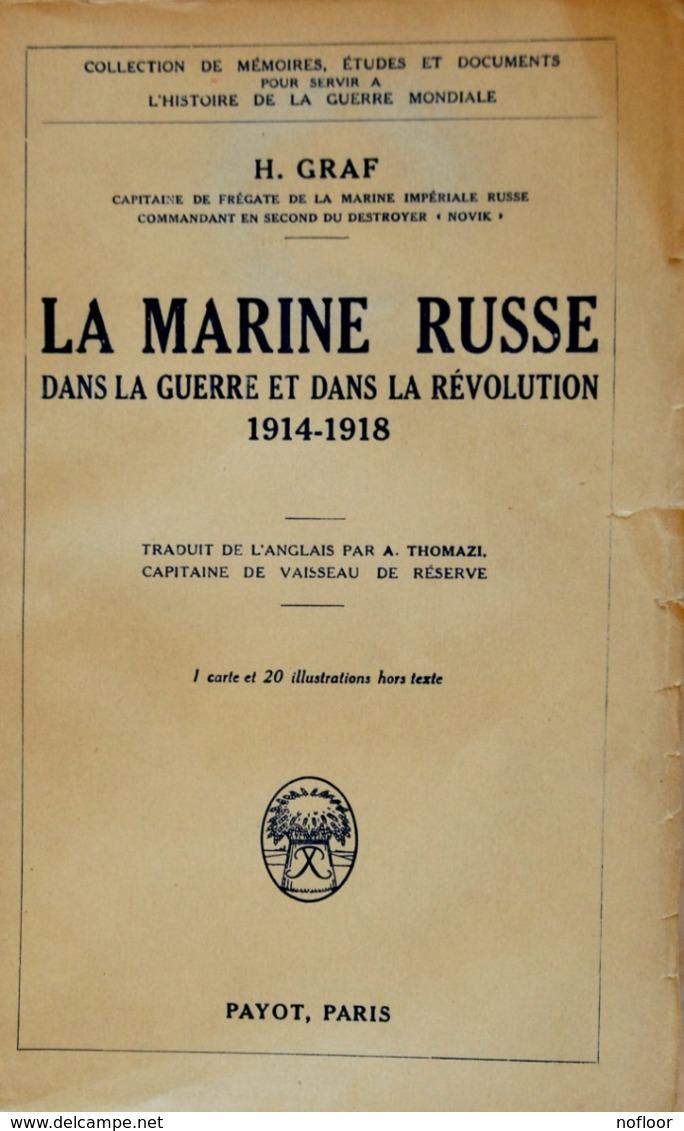 """Lot De 2 Livres : """"La Marine Russe"""" Et """"Dans La Mer Noire"""" (frais D'expédition Inclus) - Barcos"""