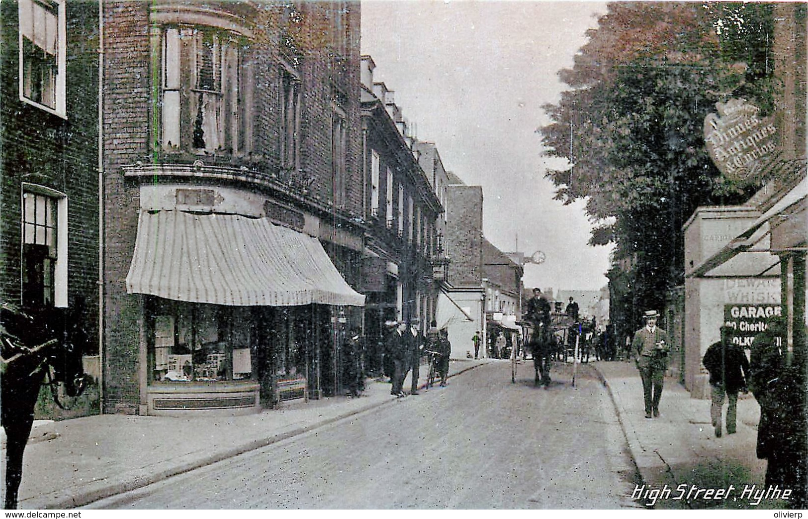 U.K. - Hythe - High Street - Engeland
