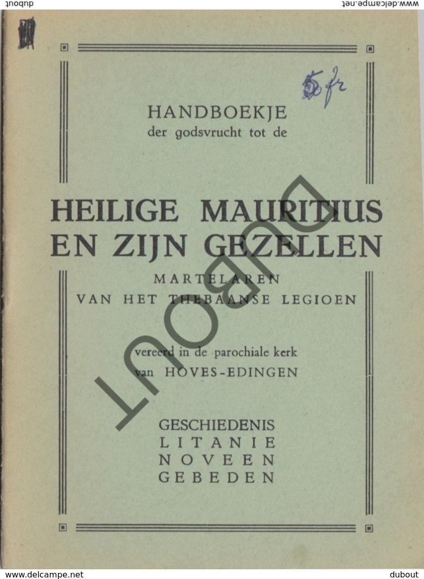 EDINGEN/Hove/Opzullik Heilige Mauritius 1935  (R279) - Boeken, Tijdschriften, Stripverhalen