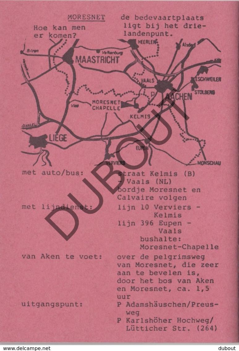 MORESNET/Blieberg/Luik 1991 Bedevaartprogramma Fransciscanen  (R278) - Boeken, Tijdschriften, Stripverhalen