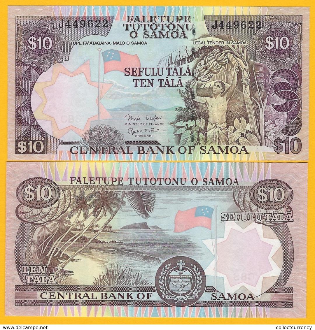 Samoa 10 Tala P-34b 2005 UNC Banknote - Samoa