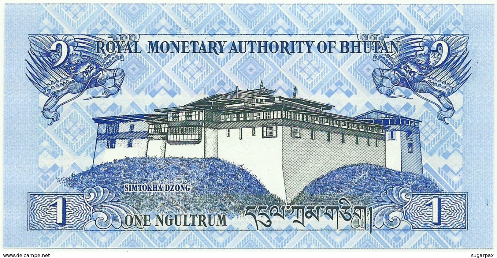 Bhutan - 1 Ngultrum - 2006 - Unc. - Pick 27.a -  Serie I1 - Bhutan