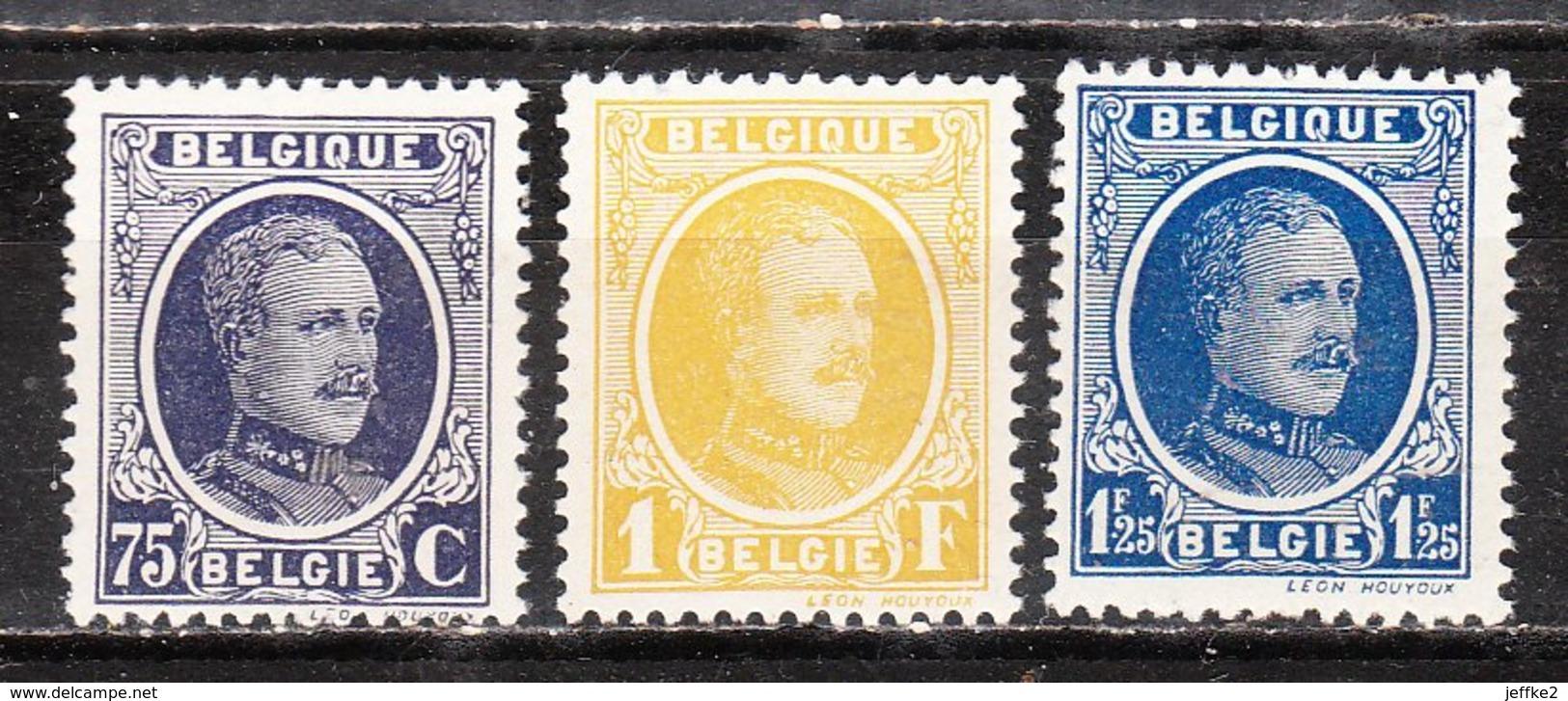 204/06**  Houyoux - Bonnes Valeurs - MNH** - LOOK!!!! - 1922-1927 Houyoux