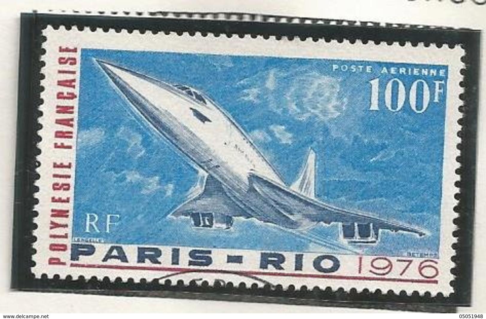 103   Concorde  (pag12 Claspolubleu) - Oblitérés