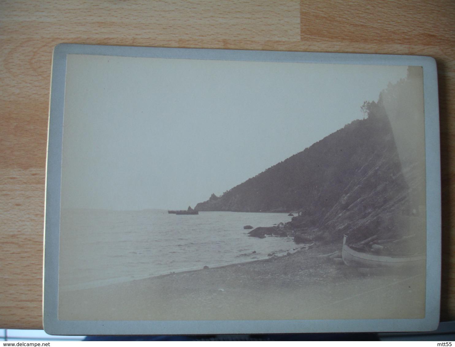 Photo  1893 L Esterel A Theoule   Photographie Ancienne - Places