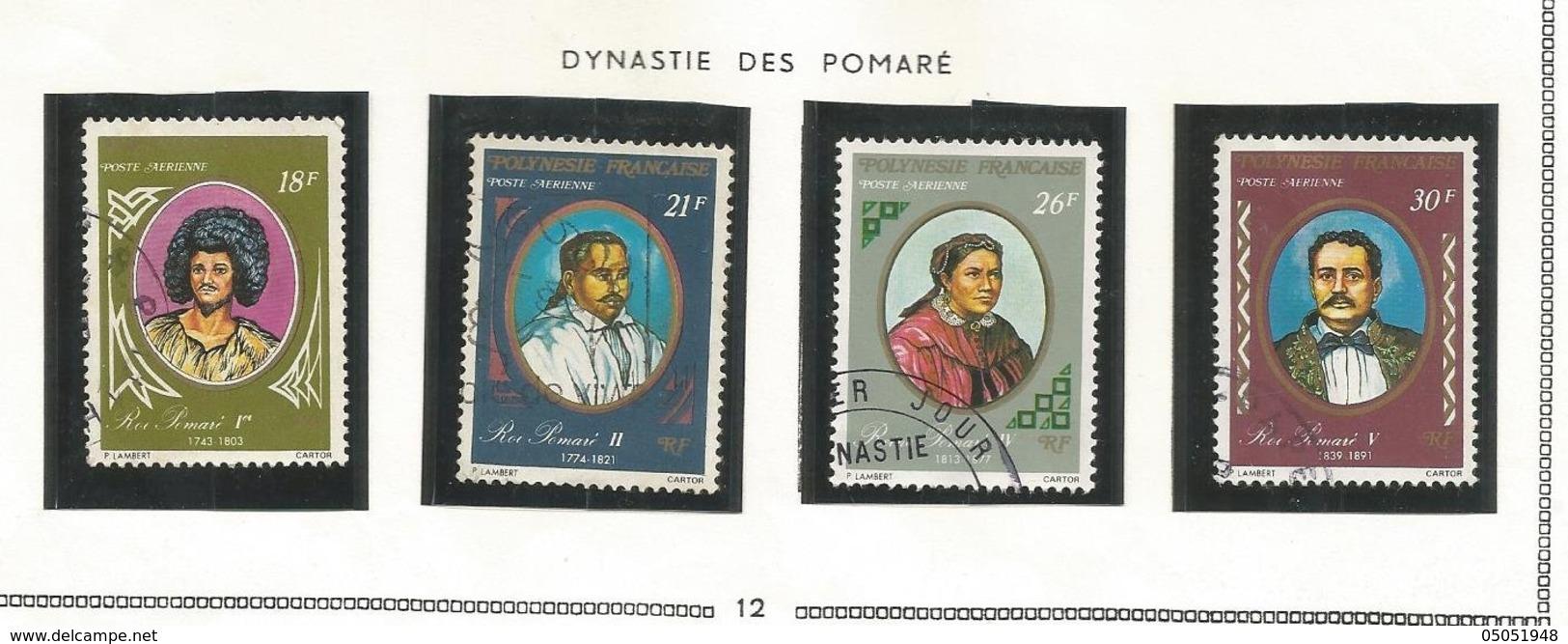 106/109  Dynastie Des Rois (pag12 Claspolubleu) - Oblitérés