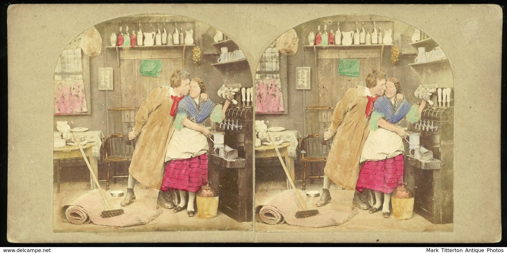 Genre Stereoview - C.1850s - Visionneuses Stéréoscopiques