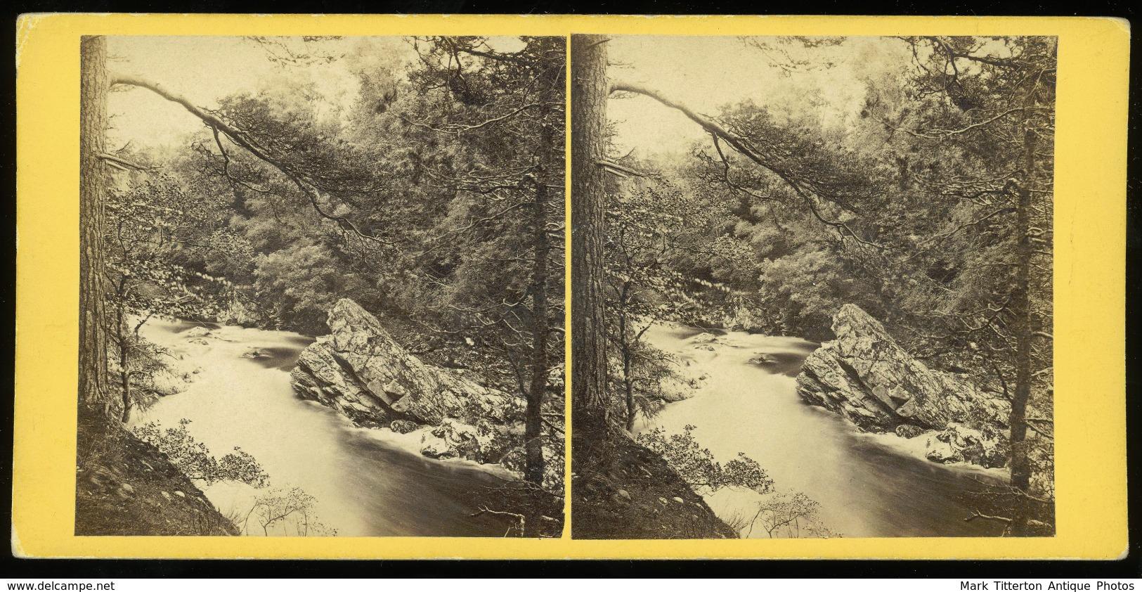 Stereoview - No.484. Blair Athole SCOTLAND - By G.W.Wilson - Stereoscopi