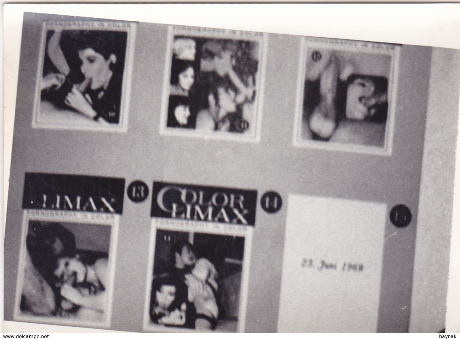 1949  --  FOTO EROTIC, NUDE   --  9 Cm X 6,5 Cm   --    1500 EROTISCHES  PHOTOS IN MEIN SHOP - Belleza Feminina (1941-1960)