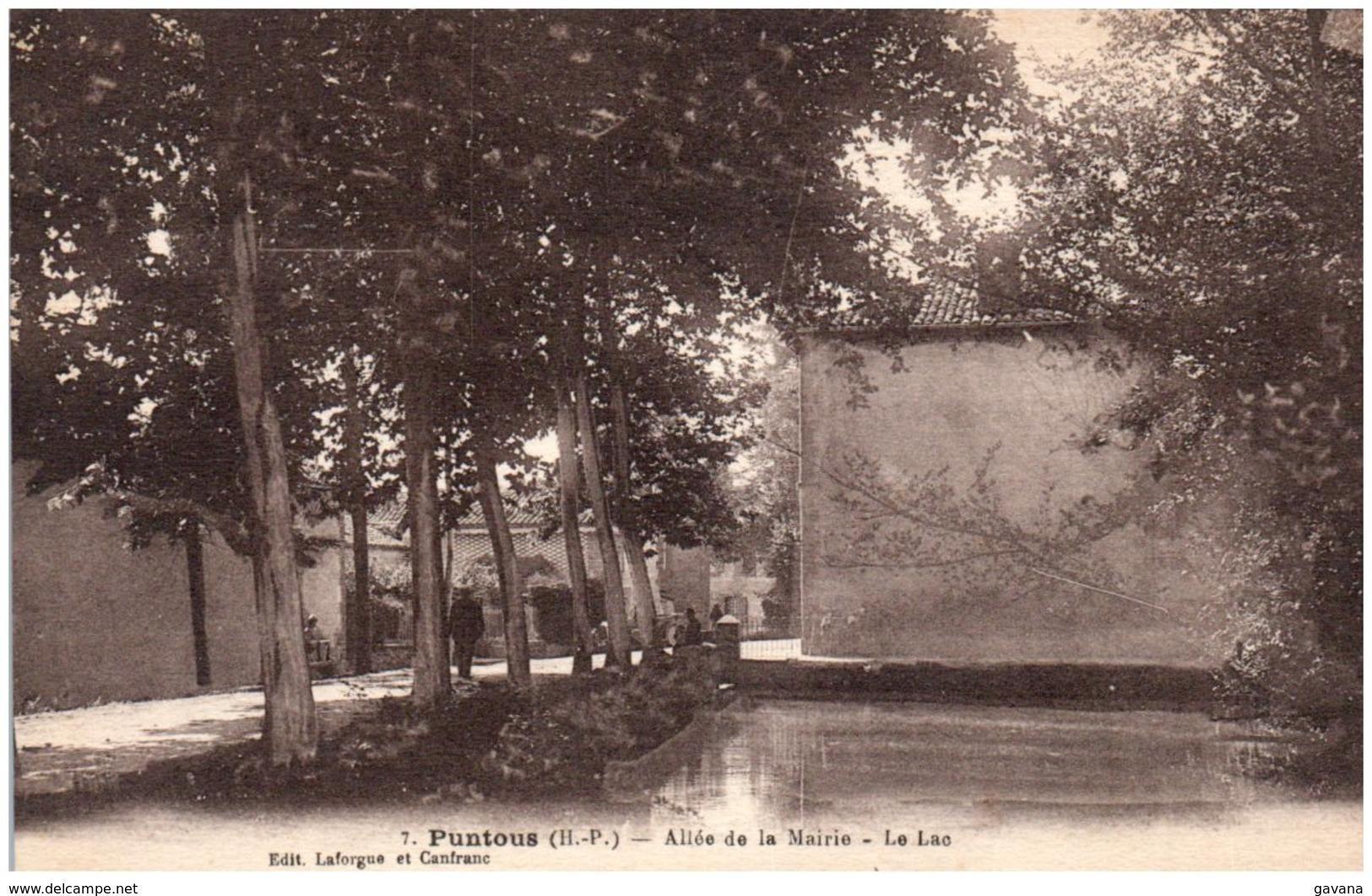 65 PUNTOUS - Allée De La Mairie - Le Lac - Frankrijk