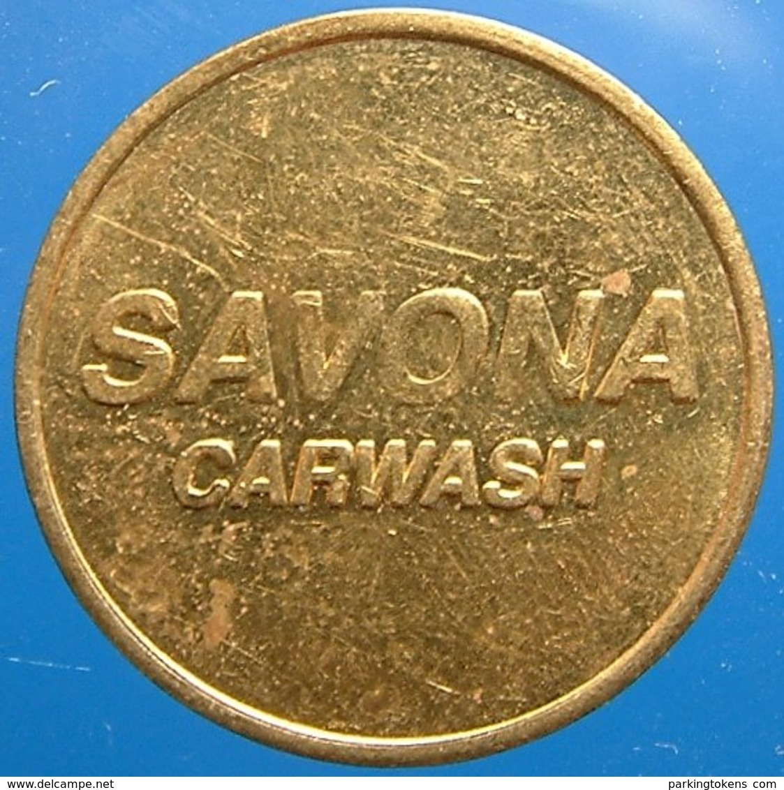 TA 042-1 - Savona - Oisterwijk - Dolphin - Auto Wasserette Car Wash Machine Token Clean Park Auto Wasch Waschpark - Firma's