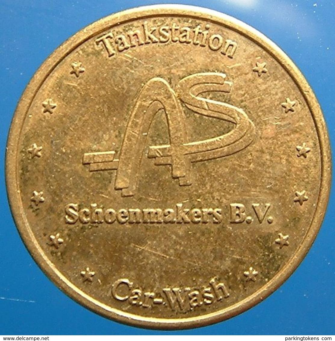 TA 045-01 - Schoenmakers - Eindhoven - Auto Wasserette Car Wash Machine Token Clean Park Auto Wasch Waschpark - Firma's