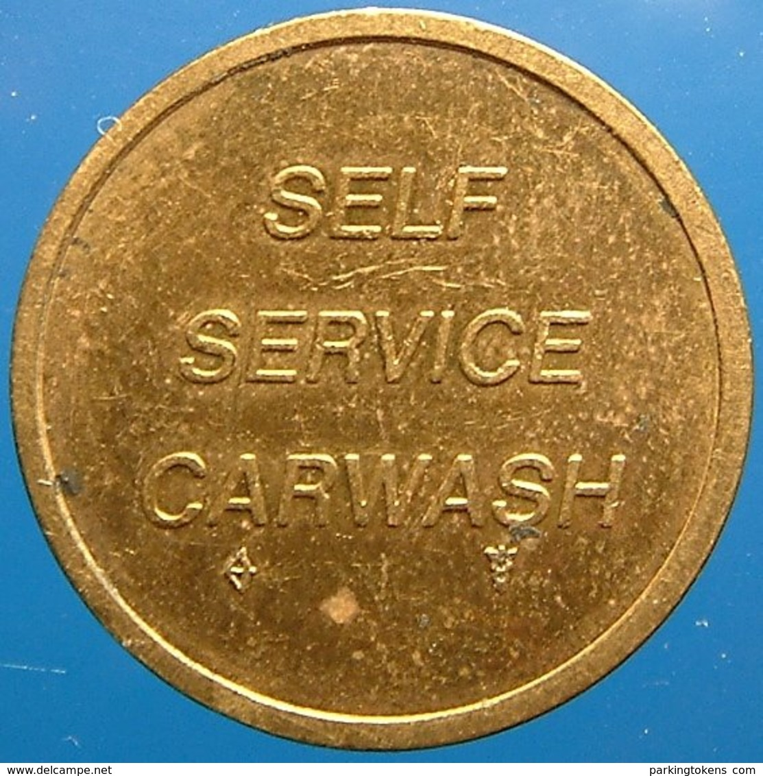 TA 028-1 - H - Rotterdam - Auto Wasserette Car Wash Machine Token Clean Park Auto Wasch Waschpark - Firma's