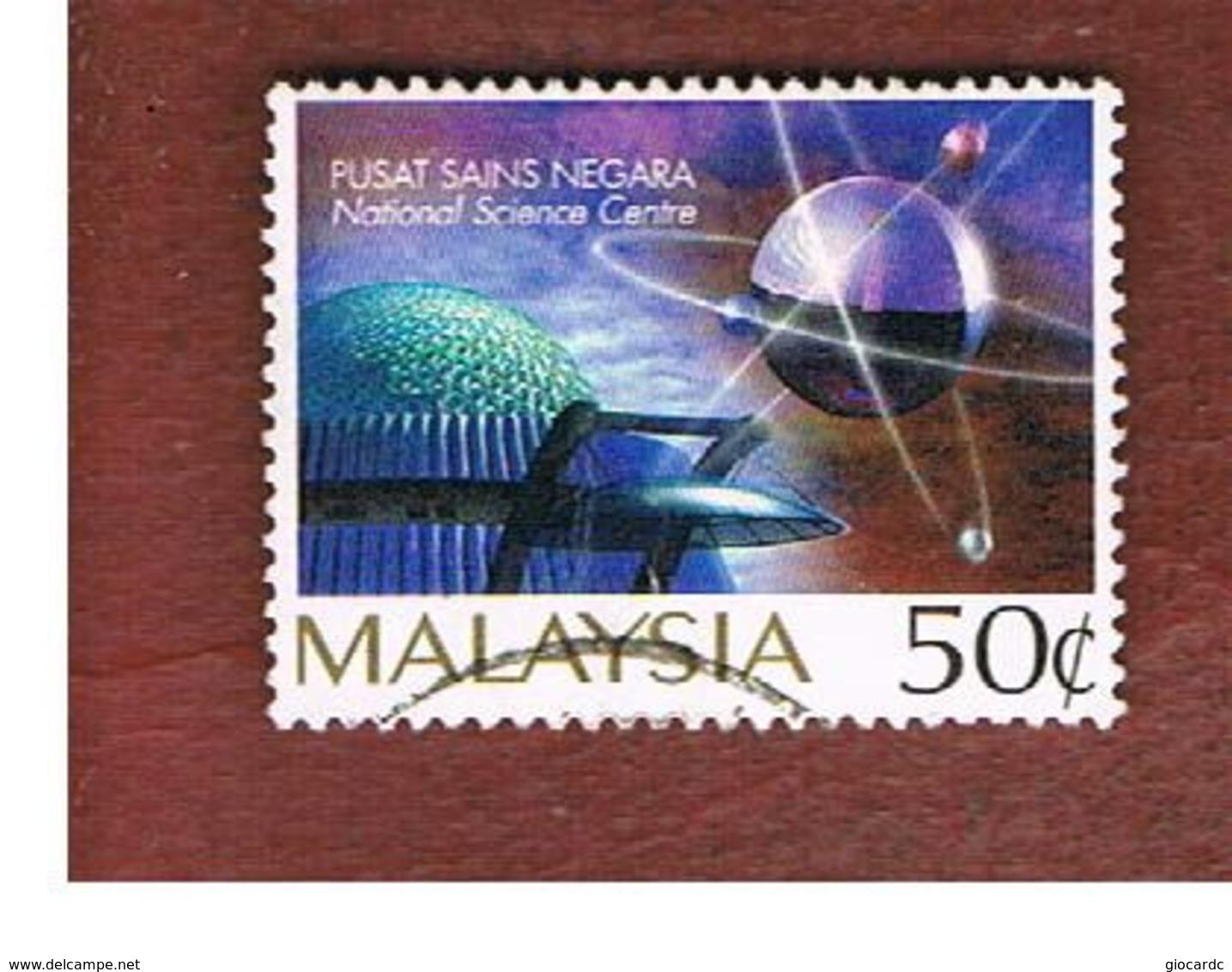 MALESIA (MALAYSIA)  -  SG 624  -   1996 NATIONAL SCIENCES CENTRE  -  USED ° - Malesia (1964-...)