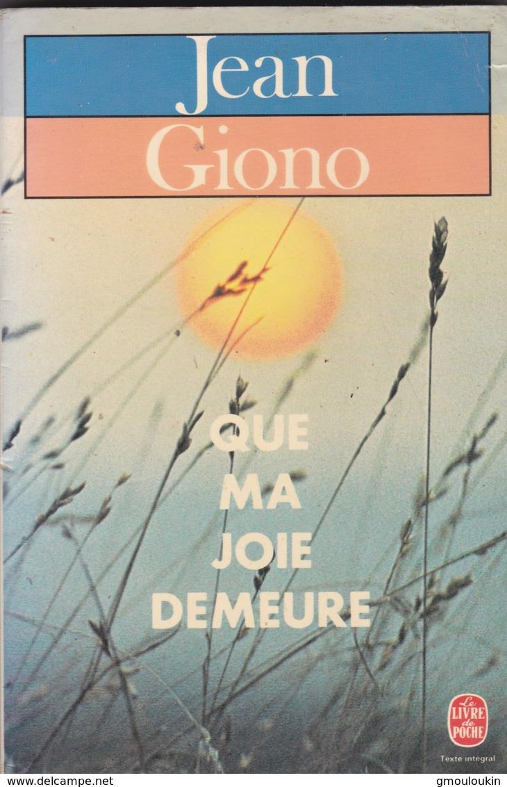 Jean Giono - Que Ma Joie Demeure - Bücher, Zeitschriften, Comics