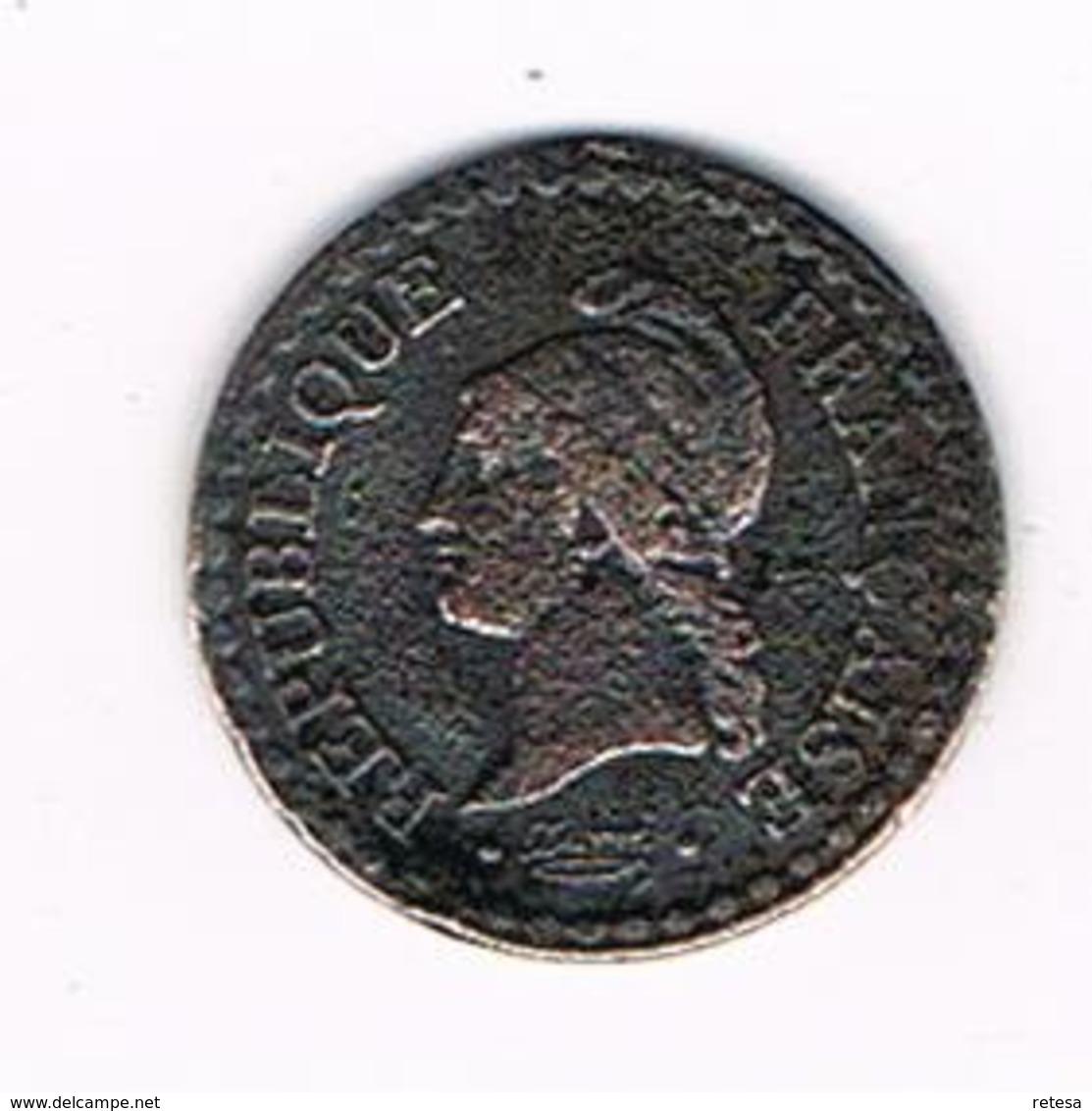 //  FRANKRIJK 1 CENTIME 1848 A - France