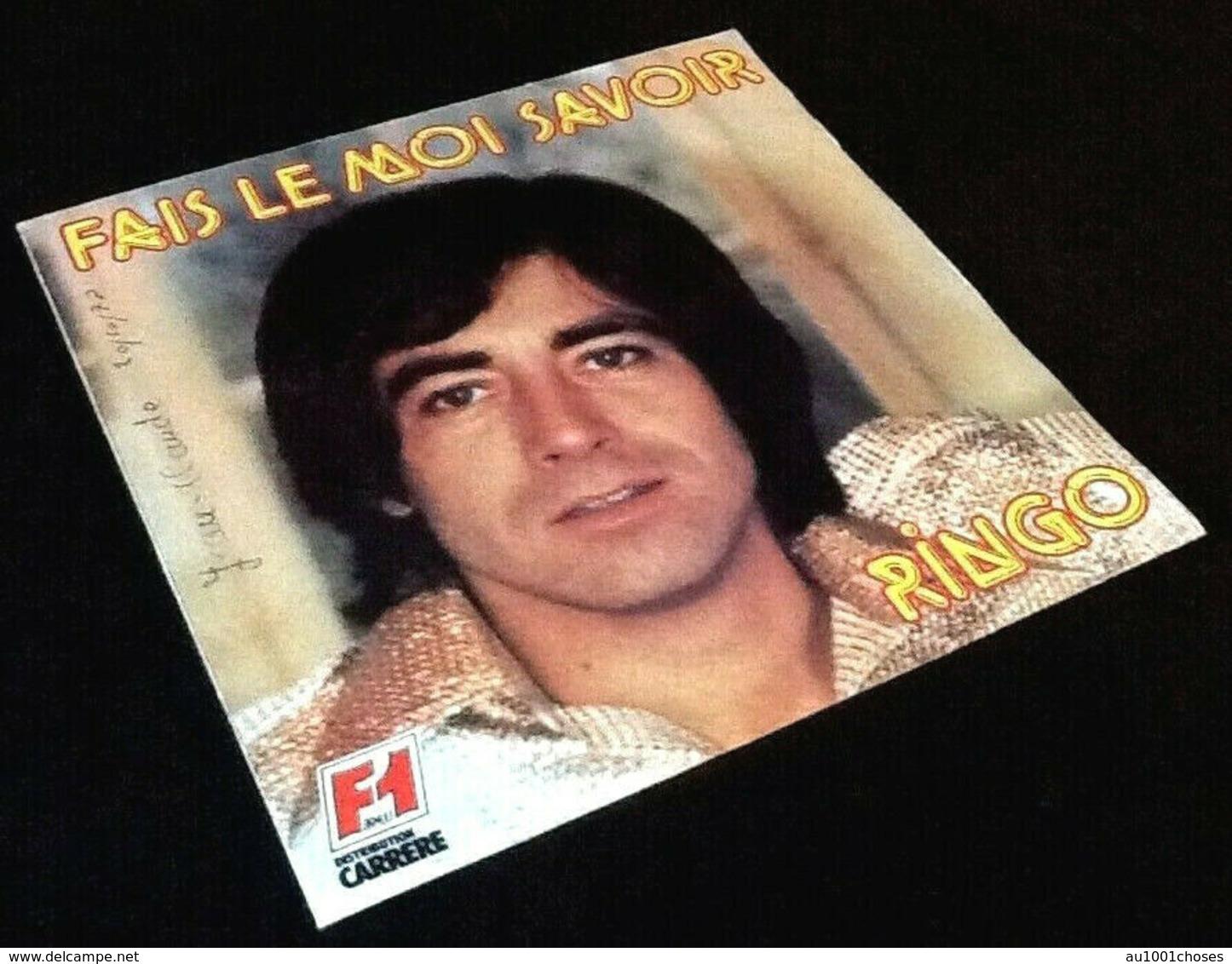 Vinyle 45 Tours Ringo    Fais Le Moi Savoir (1978) - Disco, Pop