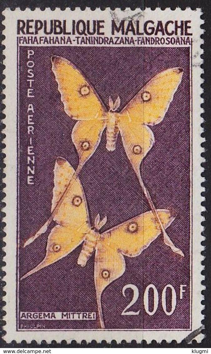 MADAGASKAR MADAGASCAR [1960] MiNr 0459 ( O/used ) Schmetterlinge - Madagaskar (1960-...)