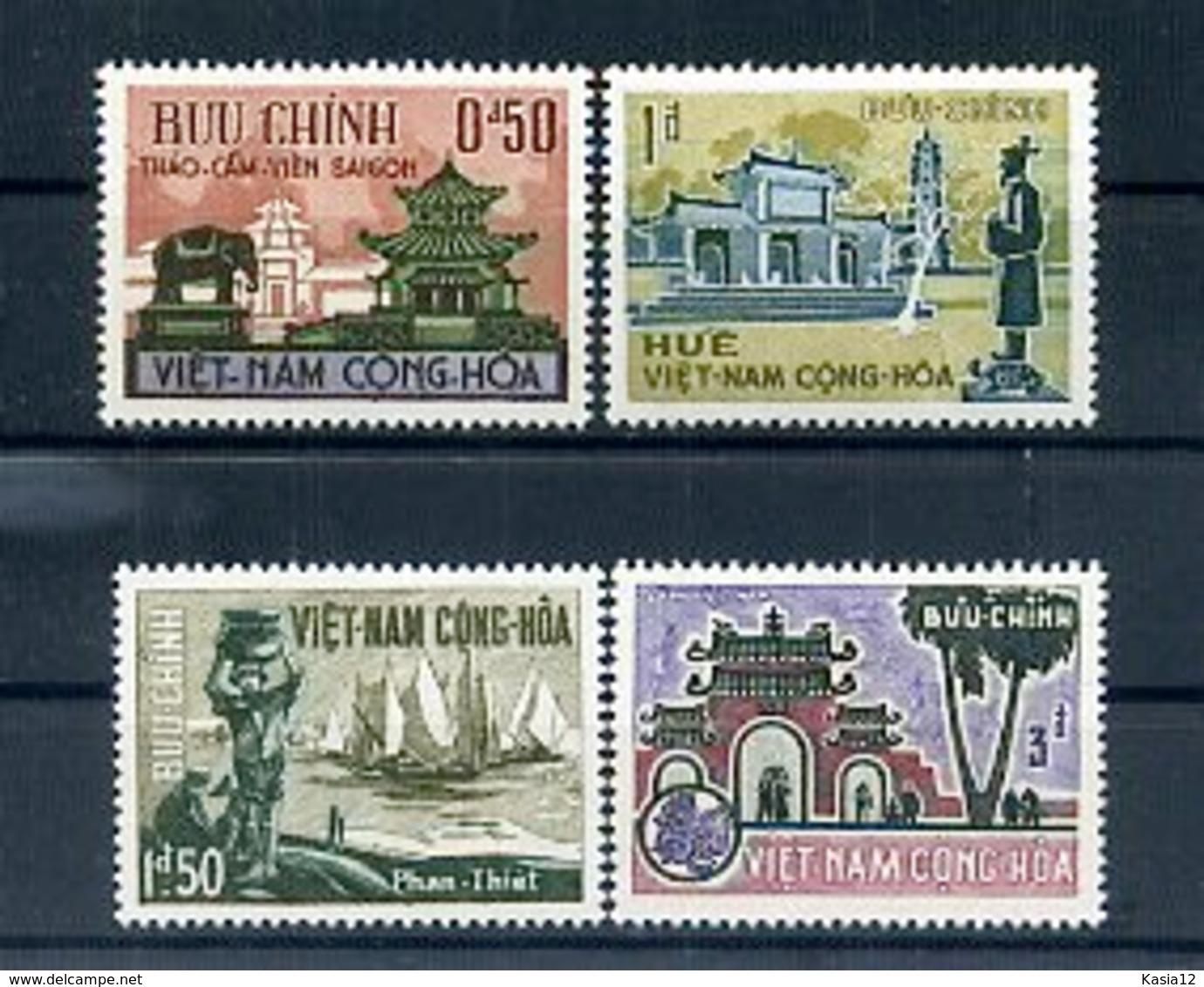 A24550)Vietnam 324 - 327** - Vietnam