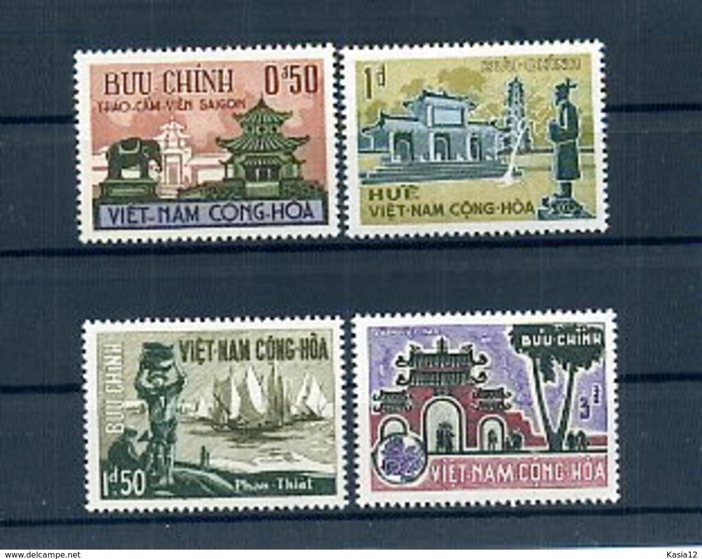 A24551)Vietnam 324 - 327** - Vietnam