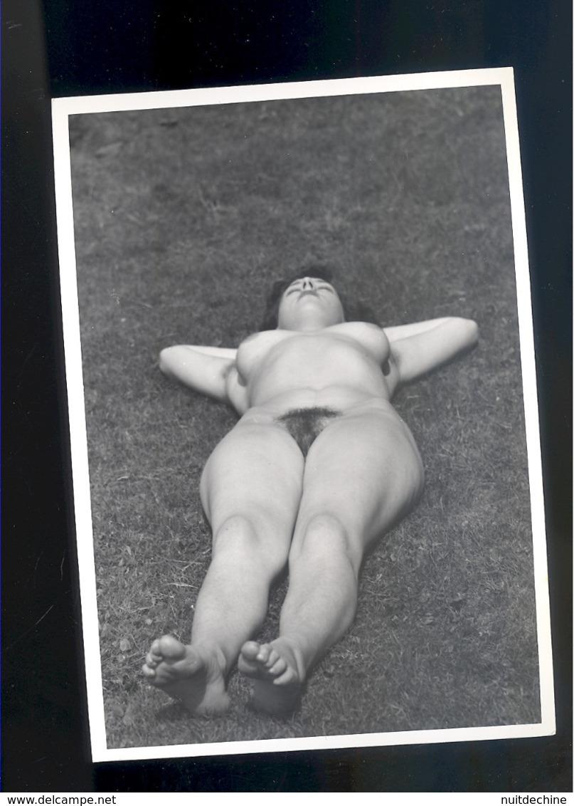 Photo Femme Nue   Nu Nude Woman Naturisme FKK  15 X10,5 Cm - Belleza Feminina (1941-1960)