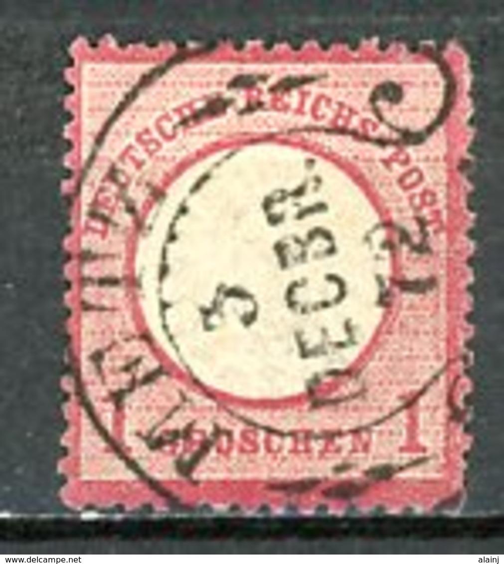 Allemagne   Y&T   16    Obl     ---      Mi   19   --    TTB... - Duitsland