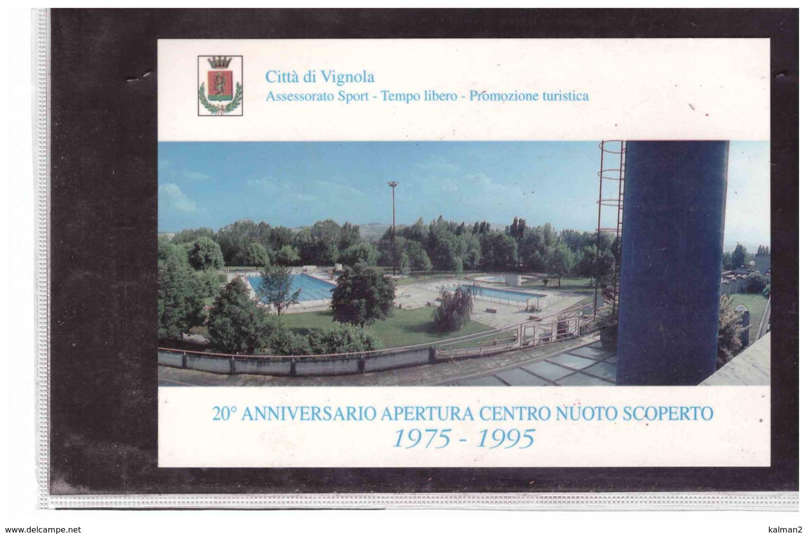 TEM3585   -   VIGNOLA  1.7.1995    /    20° ANNIVERSARIO APERTURA CENTRO SPORTIVO POLIVALENTE - Francobolli