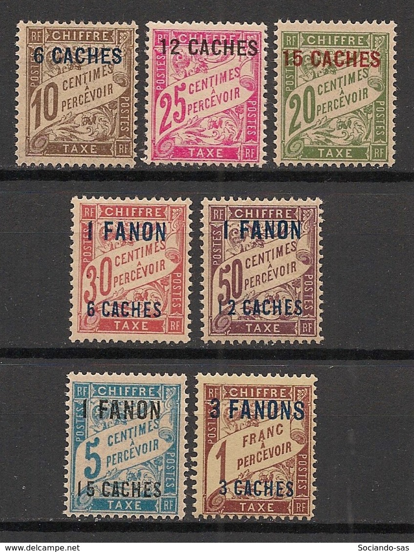 Inde - 1923 - Taxe TT N°Yv. 1 à 7 - Série Complète - Neuf Luxe ** / MNH / Postfrisch - Unused Stamps